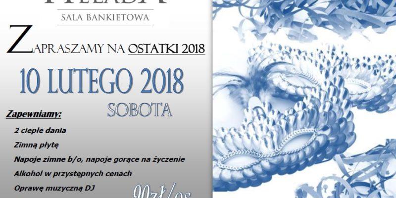 Ostatki 2018